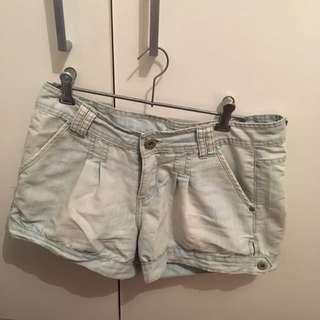 Valleygirl High waisted Denim Shorts, Size 8.