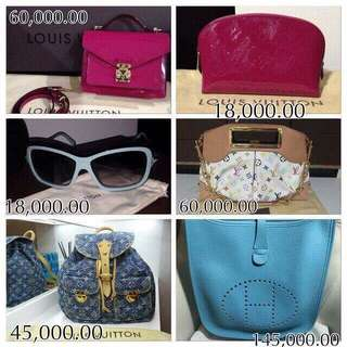 AUTHENTIC BRAND NEW & PRELOVED BAGS