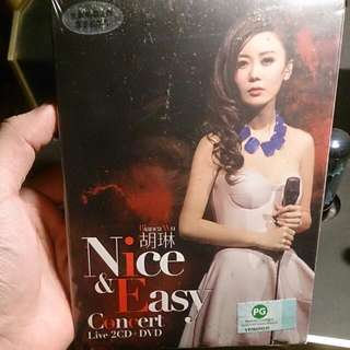 Rare - Brand New Bianca Wu 胡琳 Nice And Easy Concert Live 2CD + DVD