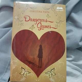 Novel Dangerous Games Karya Christina Tirta Metropop
