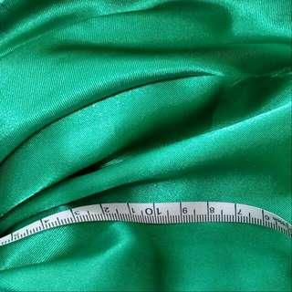 [材料]布系列 - 綠色色丁