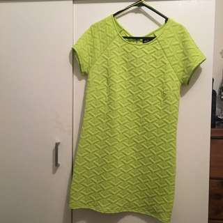 Dotti Lime Green Dress, Size 8