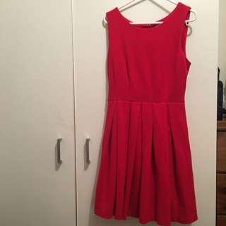 Vintage Style Skater Dress, Size Small