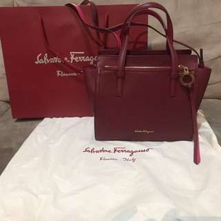 Salvatore Ferragamo Small Tote Bag