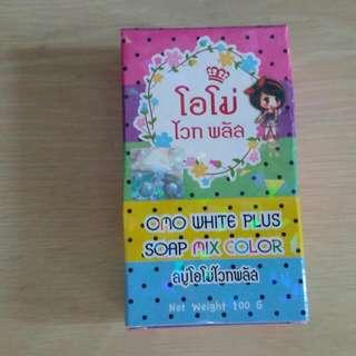 泰國彩虹美白皂  OMO White Plus SOAP