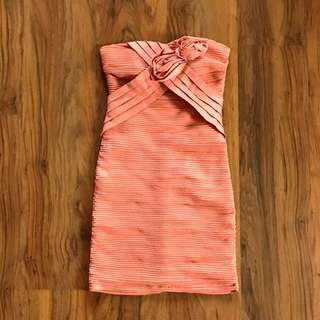 Forever21 Peach Cocktail Dress