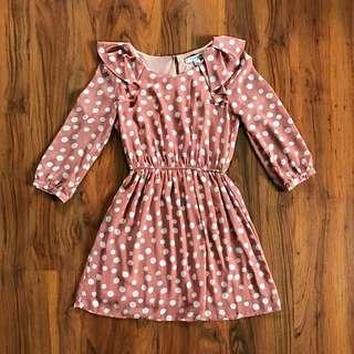 Forever21 Polka Dots Dress