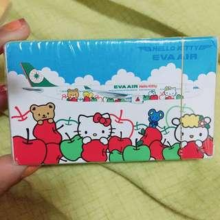 全新Hello Kitty紀念版撲克牌 限量隱藏版