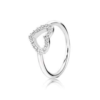 Authentic Pandora Heart Ring