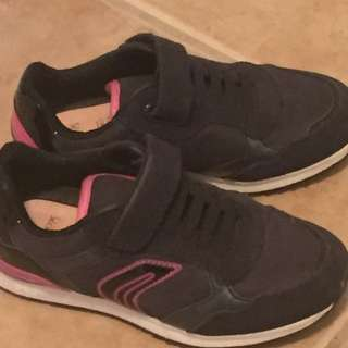 Girls Size 12 Geox Running Shoes
