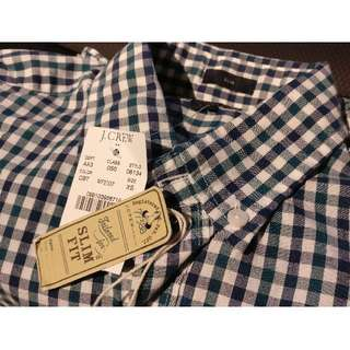 NEW J.Crew Men's Slim Fit Long Sleeve Shirt, XS: Brand New With Tags