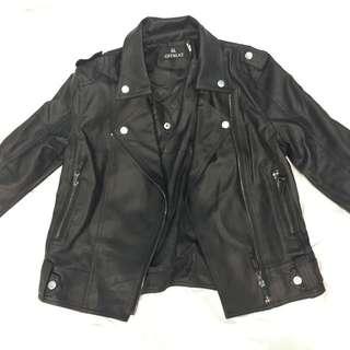 Biker PU Leather Jacket