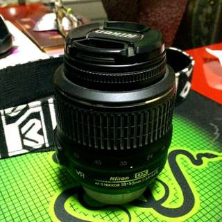 Fault Lense Nikon 18-55mm