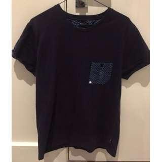 two square Pocket T-shirt