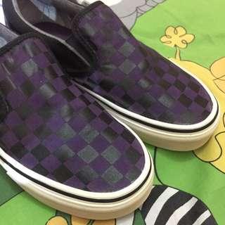 Vans Checkerboard Ungu Size 6