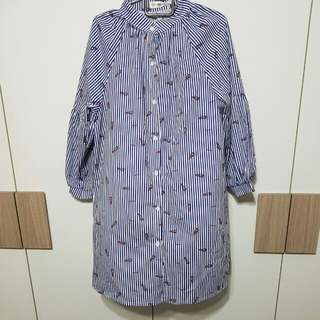 Ulzaang Striped Dress