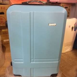 金安德森 20吋行李箱 (水藍)