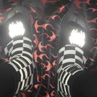 現貨🔥🔥棋盤格襪