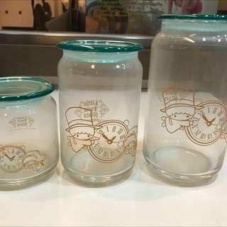 雙子星玻璃罐(免費送 自付運費即可)