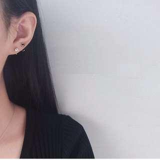 韓國簡約個性小耳圈耳骨環
