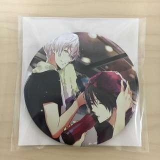 (PENDING) Tsukiuta Animate Only Shop Badge - Hajime/shun