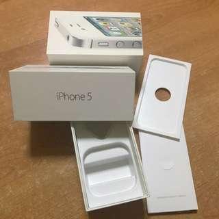 Iphone 5 Box White 16GB