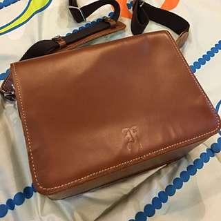 Leather Cooper Camera Bag