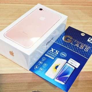 iphone7 128G 玫瑰金