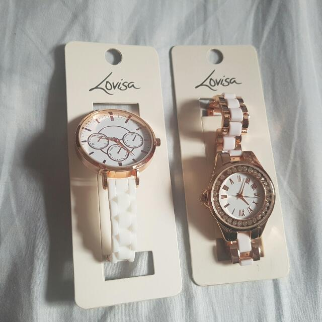2 lovisa watches