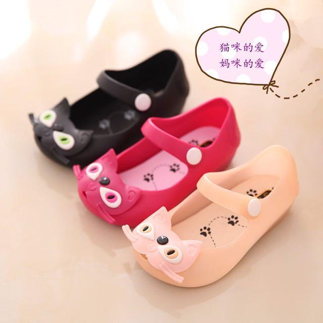 👧🏻✨猫咪果凍鞋✨