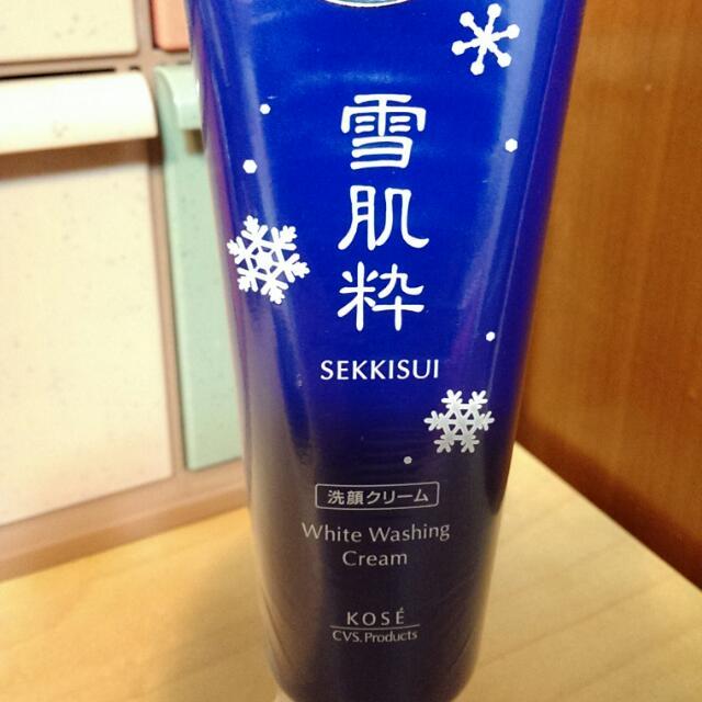 雪肌粹 Kose Sekkisui White Washing Cream 洗面乳