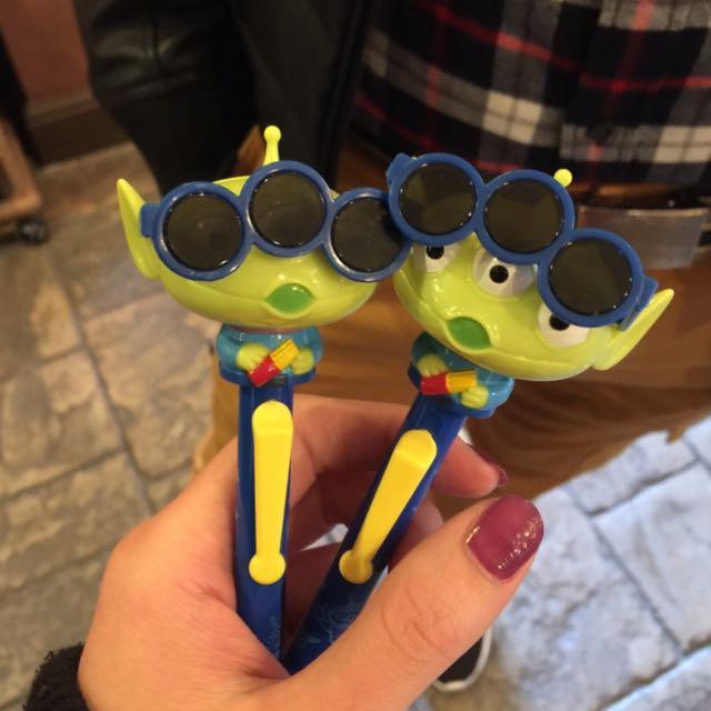 代購 迪士尼三眼怪 原子筆