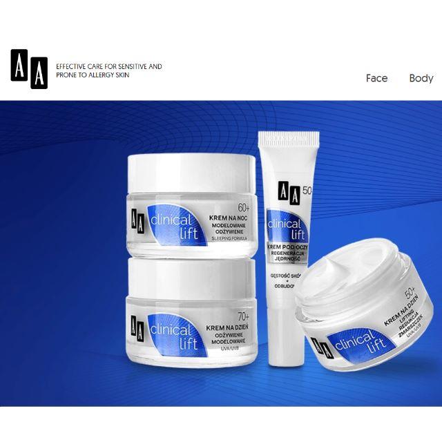 [歐洲代購] 保養美妝品牌AA-波蘭第二大化妝品公司OCEANIC旗下國民品牌