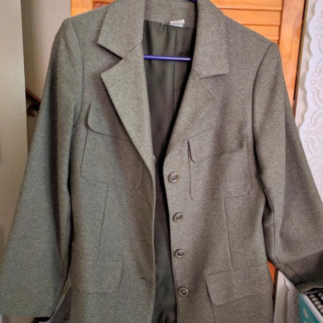 🆕 Dark Grey-green Formal Blazer Jacket