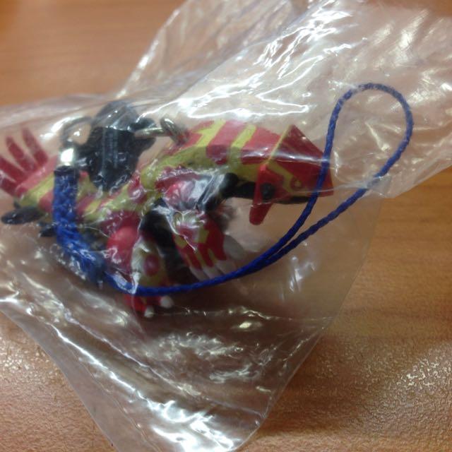 神奇寶貝 Mega 原始固拉多 扭蛋 吊飾