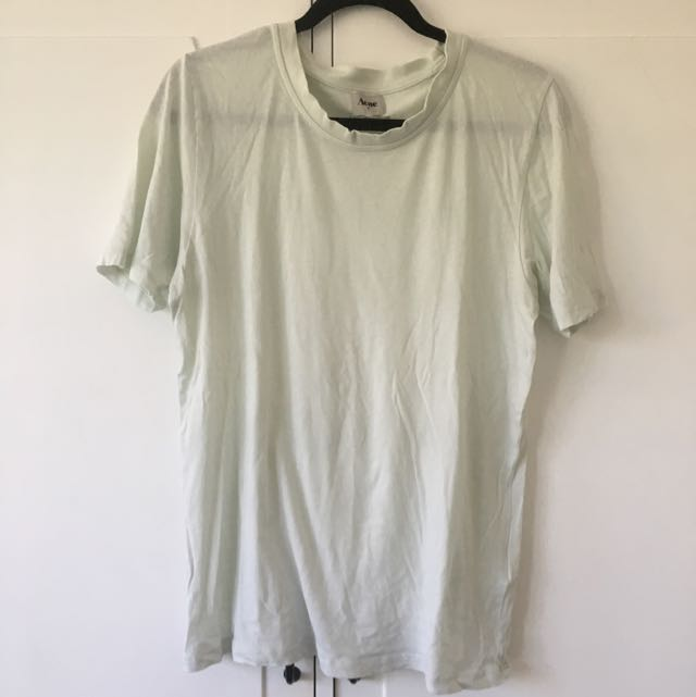 Acne Pop Classic light green t-shirt