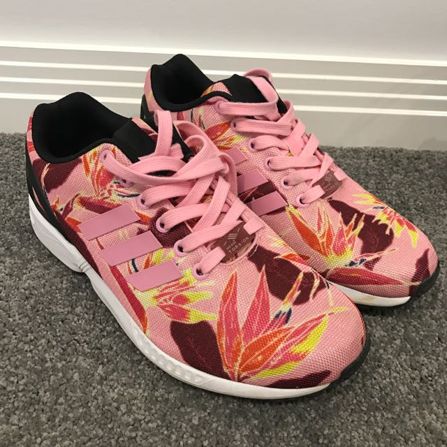 Addidas Floral Trainers