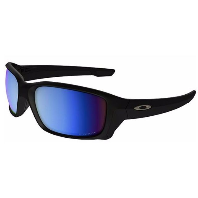 5686755b8adaf Authentic Brand New in Box OAKLEY Straightlink Matte Black Polarized ...