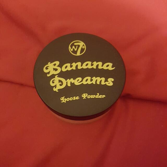 banana dreams setting powder