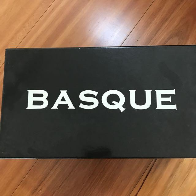 Basque Wedge Heel