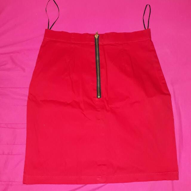 Repriced! Bayo Red Skirt