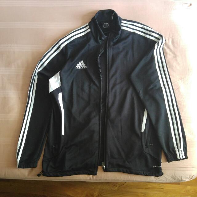 reputable site ac9f7 79085 Black Adidas Climacool Jacket, Men's Fashion, Clothes on ...