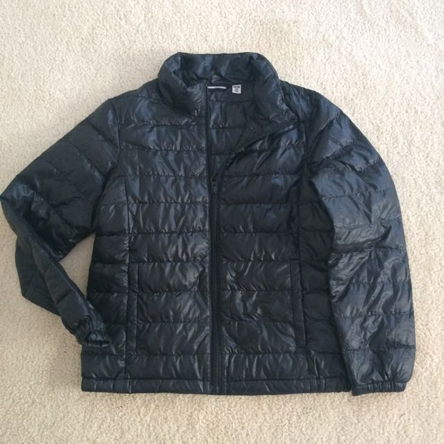 Black Bubble Jacket