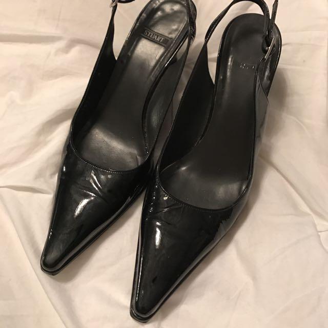 Black Wedges/Heels