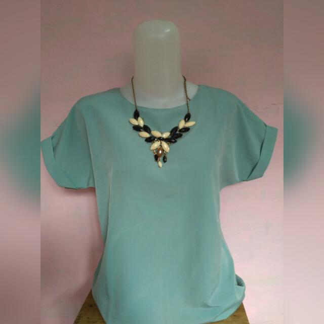 Blouse Ijo Tosca