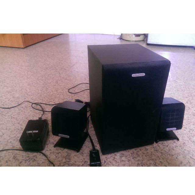 Creative 創巨 創新未來 SBS 370 2.1聲道 音箱 低音 可調
