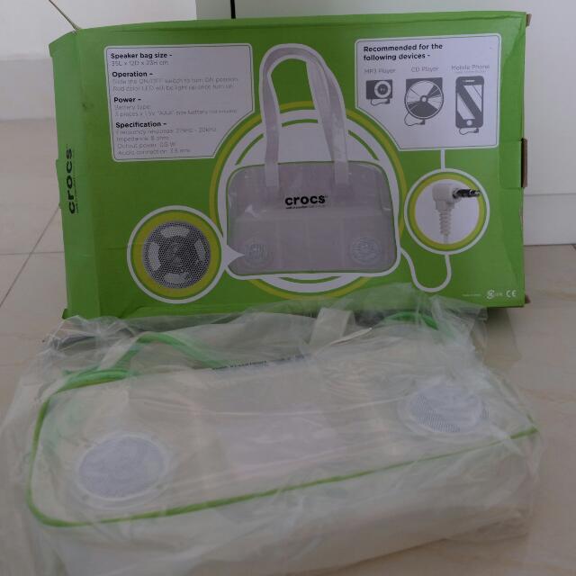 [REPRICE] Crocs Speaker Bag, Tas Speaker