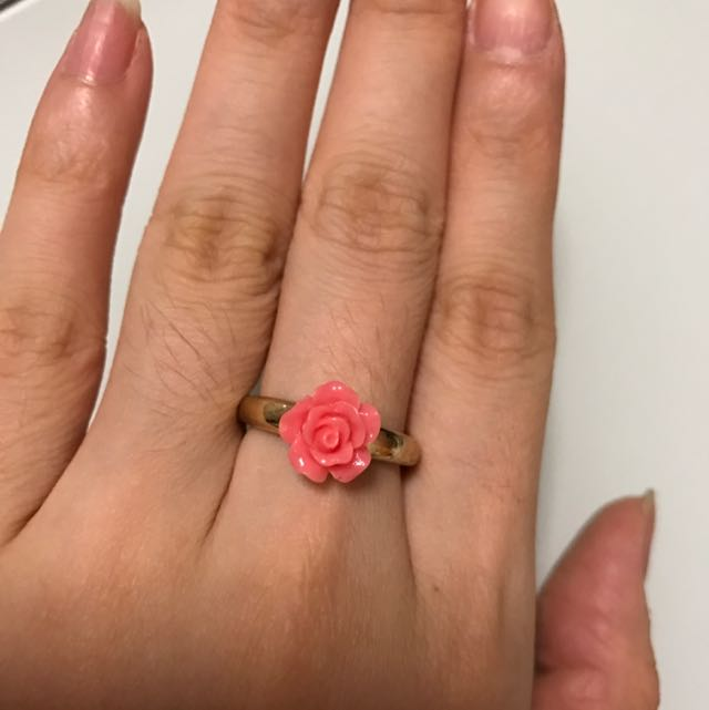 Cute Forever21 Rose Ring