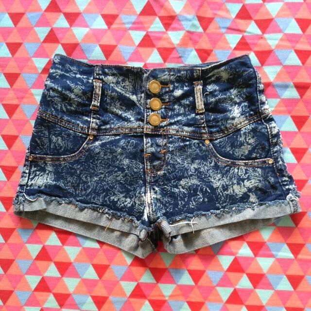 Denim Hot Pants