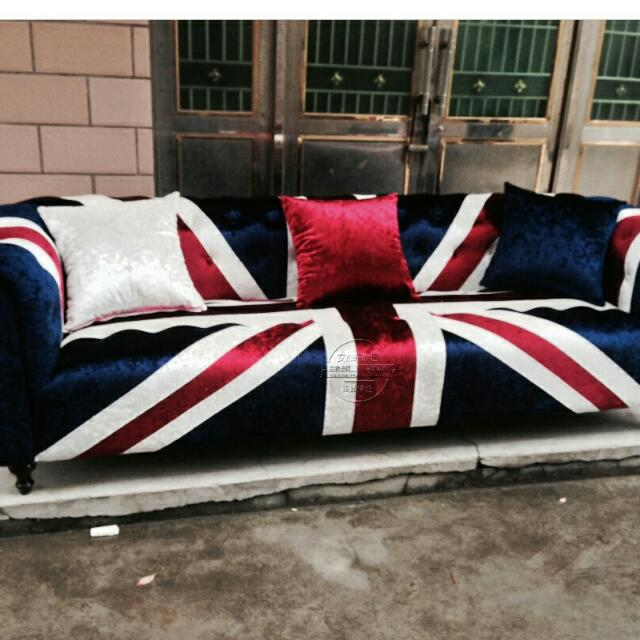 Bn Designer Premium British Flag Sofa Furniture Sofas On Carou